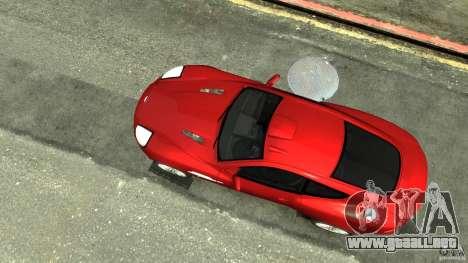 Aston Martin Vanquish S v2.0 teñido para GTA 4 visión correcta