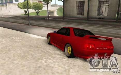 Nissan Skyline GTR-32 StanceWork para GTA San Andreas left