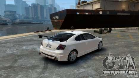 Toyota Scion para GTA 4 left