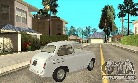 ZAZ-965 para la visión correcta GTA San Andreas