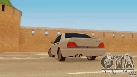 Mercedes-Benz 500SE para GTA San Andreas left