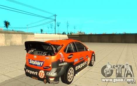 Ford Focus RS WRC 08 para GTA San Andreas