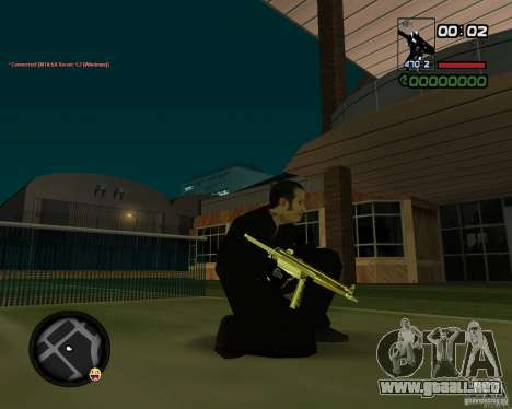 MP5 Gold para GTA San Andreas
