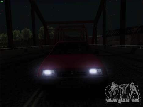 VAZ 21083i para vista inferior GTA San Andreas