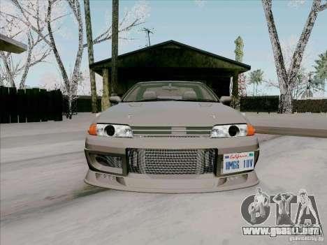 Nissan Skyline GTS-T para visión interna GTA San Andreas
