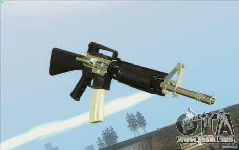 Low Chrome Weapon Pack para GTA San Andreas segunda pantalla