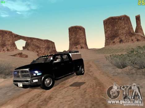 Dodge Ram 3500 Unmarked para GTA San Andreas left