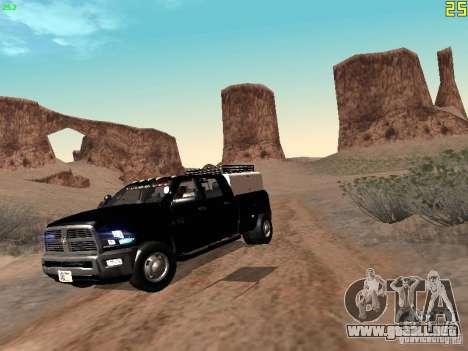 Dodge Ram 3500 Unmarked para GTA San Andreas left