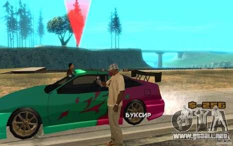 El patrón de diapositivas para GTA San Andreas segunda pantalla