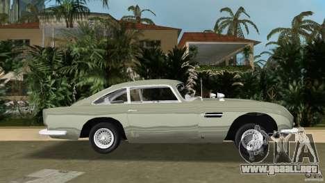 Aston Martin DB5 63-54 (JAMES BOND) para GTA Vice City left