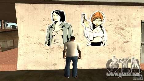Camiseta Sí para GTA San Andreas segunda pantalla