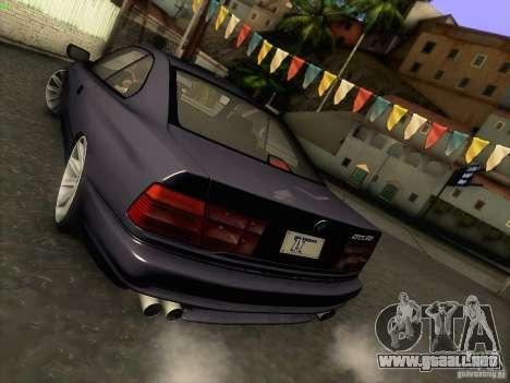 BMW 850 CSI para la vista superior GTA San Andreas