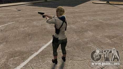 Sherry Birkin para GTA 4 quinta pantalla
