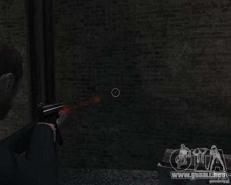 Flashlight for Weapons v 2.0 para GTA 4 octavo de pantalla