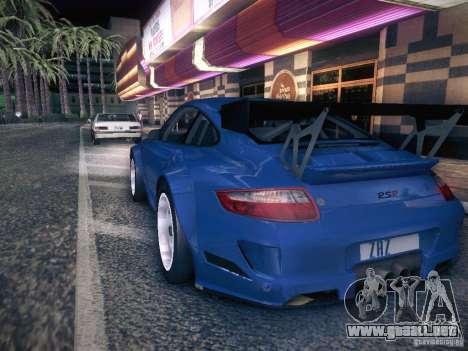 Porsche 997 GT3 RSR para GTA San Andreas left