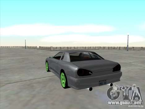 Elegy Full VT v1.2 para GTA San Andreas vista hacia atrás