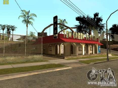 New Bar Ganton v.1.0 para GTA San Andreas segunda pantalla