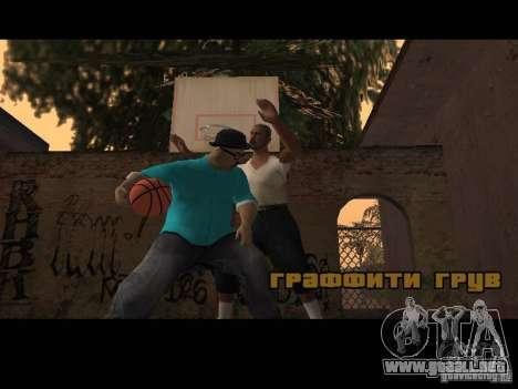 Varrio Los Aztecas para GTA San Andreas quinta pantalla