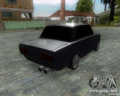VAZ 2107 Drift Enablet Editional i3 para GTA San Andreas left