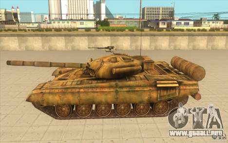 Tanque t-72 para GTA San Andreas left