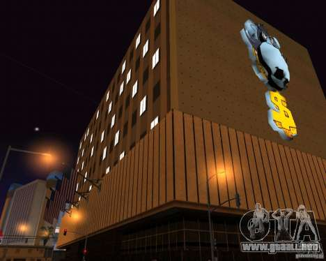Real New Vegas v1 para GTA San Andreas sexta pantalla