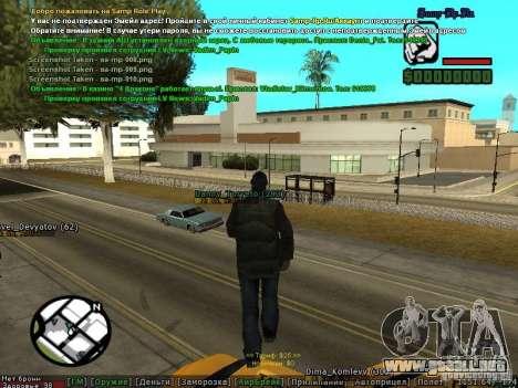 m0d S0beit 4.3.0.0 Full rus para GTA San Andreas sexta pantalla