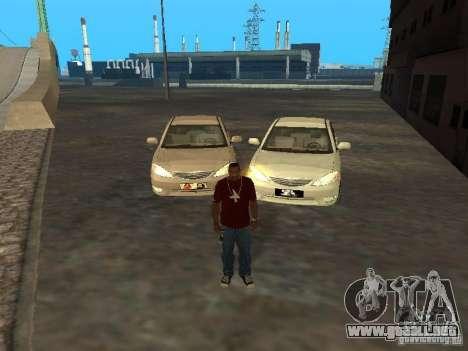 Toyota Camry 2003 para GTA San Andreas vista hacia atrás