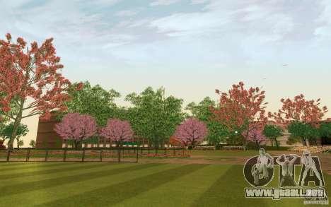 Project Oblivion 2010 Sunny Summer para GTA San Andreas quinta pantalla