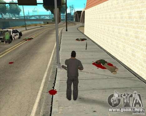 Real Ragdoll Mod Update 02.11.11 para GTA San Andreas quinta pantalla