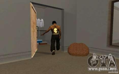Hollywood Undead Tatoo para GTA San Andreas segunda pantalla