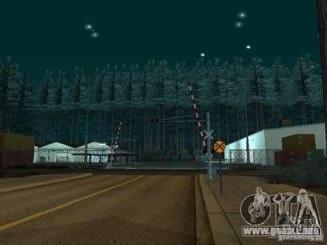Bosque en Las Venturas para GTA San Andreas tercera pantalla