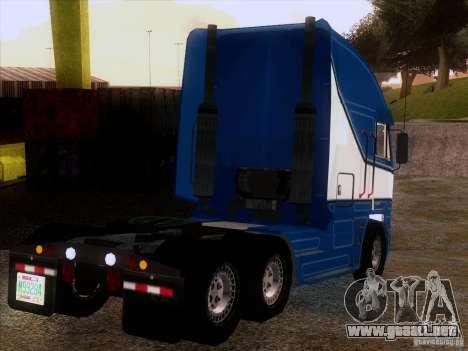 Freightliner Argosy Skin 1 para la visión correcta GTA San Andreas
