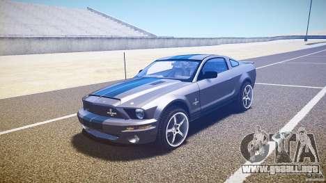 Shelby GT500kr para GTA 4 left
