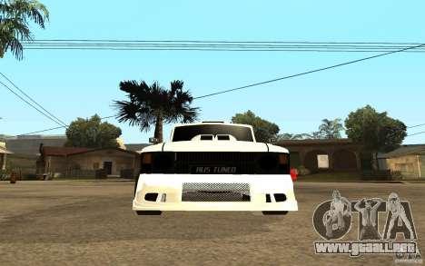IZH 27151 para la visión correcta GTA San Andreas