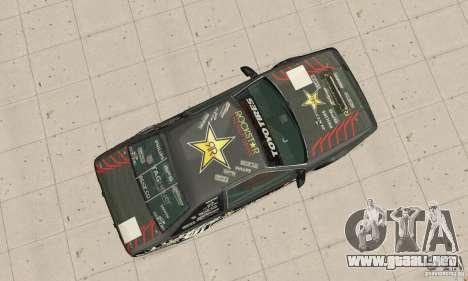 Toyota AE86wrt Rockstar para la visión correcta GTA San Andreas