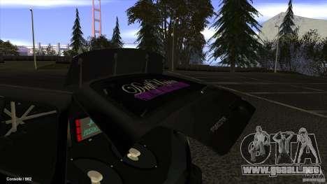 Subaru Forester Turbo 1998 para la visión correcta GTA San Andreas