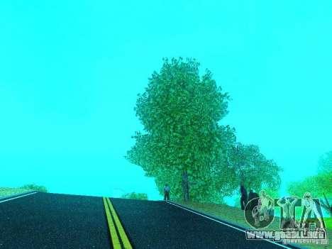 Nuevo Color Mod para GTA San Andreas quinta pantalla