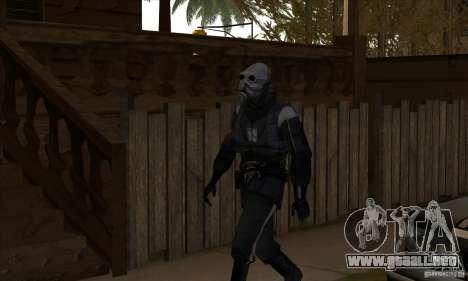 Alien para GTA San Andreas segunda pantalla
