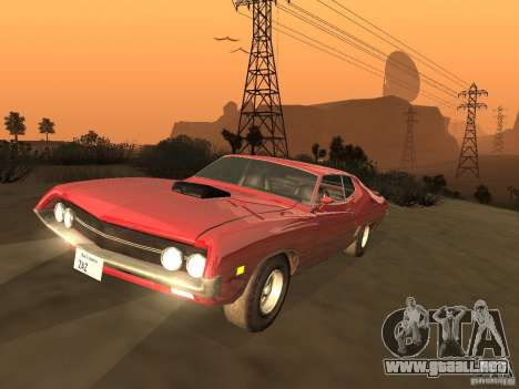 Ford Torino Cobra 1970 Tunable para GTA San Andreas