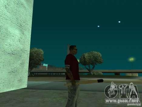 Bit HD para GTA San Andreas sucesivamente de pantalla