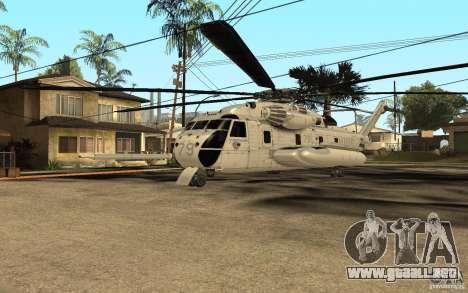 CH 53E para GTA San Andreas left