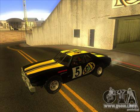 Jupiter Eagleray MK5 para visión interna GTA San Andreas