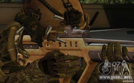 Tavor Tar-21 Desert para GTA San Andreas tercera pantalla