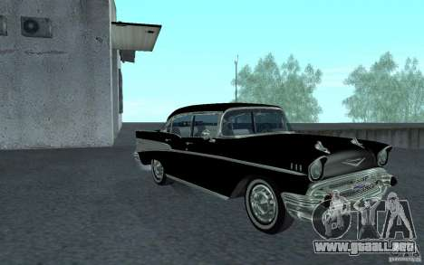 Chevrolet BelAir 4 Door Sedan 1957 para GTA San Andreas