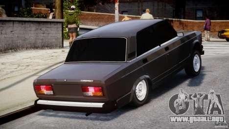 Estilo Avtosh VAZ-2107 para GTA 4 vista interior
