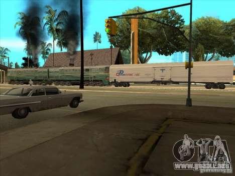 2te10v-3594 para GTA San Andreas vista hacia atrás