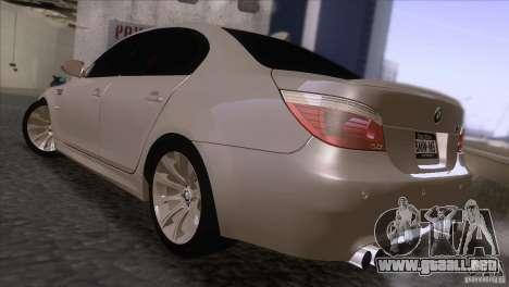 BMW M5 2009 para la visión correcta GTA San Andreas