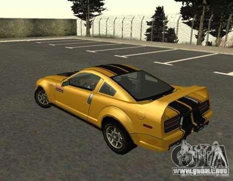Road King from FlatOut 2 para GTA San Andreas left