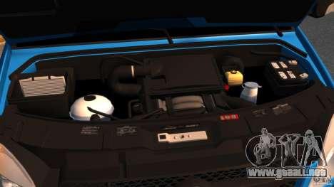 Mercedes-Benz Sprinter 3500 Car Transporter para GTA 4 vista hacia atrás
