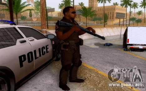 Un oficial de policía de bacalao: BO2 para GTA San Andreas segunda pantalla